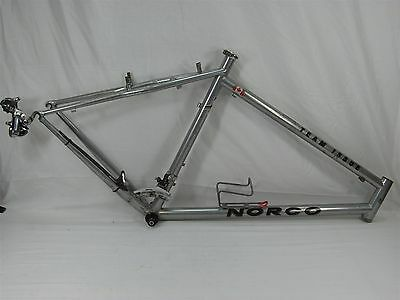 1990's NORCO TEAM ISSUE SILVER FRAME RITCHEY LOGIC SUPER TUBING PRESTIGE FRAME