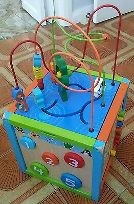 Discovery Imaginarium 5 sided activity cube 18m +