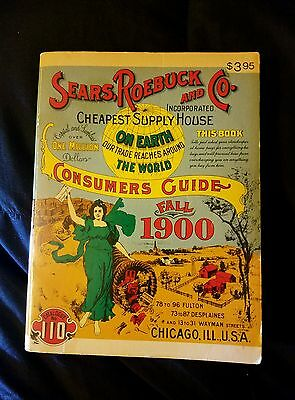 Sears Roebuck and Co. 1900 Fall Catalog Consumer Guide Vintage Reprint 1970