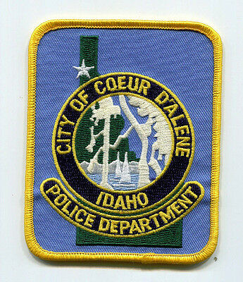 Coeur D'Alene Idaho Police Patch /// FREE US SHIPPING