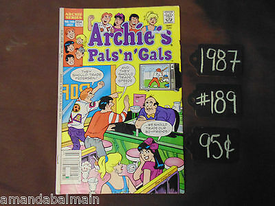 Vintage Comic Book: Archie's Pals 'n' Gals   #189   ~  95¢ *We Combine Shipping*