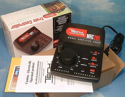 MRC 260 TECH 4 TRAIN CONTROLLER TRANSFORMER AB131 for HO N O S Z other DC * NIB