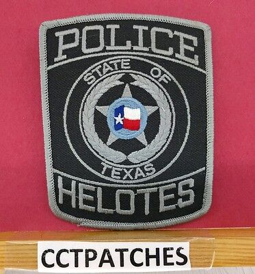 Helotes, Texas Police Shoulder Patch Tx