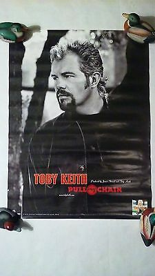 Toby Keith 2001 Pull My Chain Original Promo Poster 2001