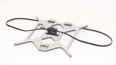 Prusa i3 Aluminium composit Heated Bed Support, Y carriage Plate + Belt Support