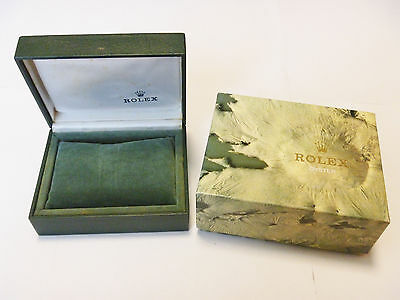 Vintage 1980/1990's Rolex Watch Moon Crater Box Case 11.00.01