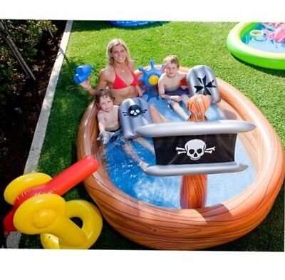 Pirate Ship Play Centre, Kids Pirate Ship PlayCentre Pool, Kiddie Pirate Party