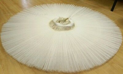 High Quality Hooped Professional Classical Pleated Russian Ballet Tutu Skirts