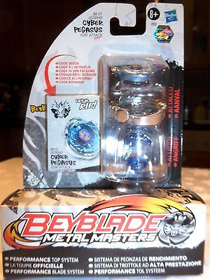Beyblade Metal Masters Performance Top System Legend Cyber Pegasus BB-01 NEW