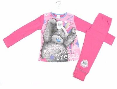 Me To You Tatty Ted Teddy Girls Pink Sweet Dreams Pyjamas Age 5 6 7 8 9 10 11 12