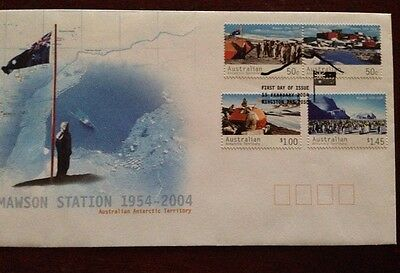 2004 Mawson Station 1954-2004 FDC First Day Cover