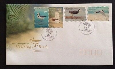 2008 Cocos (Keeling) Islands Visiting Birds First Day Cover FDC