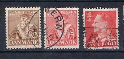 Denmark 1936 Reformation 10 ore, 15 ore SG 300-1 Used