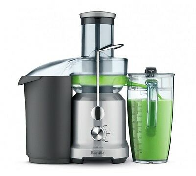 Juicer Breville Fountain Cold Juice Extractor Fruit Vegetable Stainless Steel
