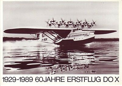 Official Aero 1989 Friedrichshafen Aviation Postcard