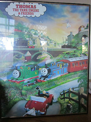 THOMAS THE TANK ENGINE & FRIENDS Train  FRAMED POSTER