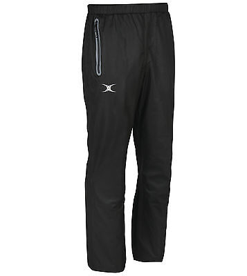Clearance New - Gilbert Rugby Virtuo Waterproof Trousers - Black - Small
