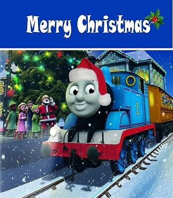 Personalized Christmas letter from Santa with THOMAS the TRAIN gifts