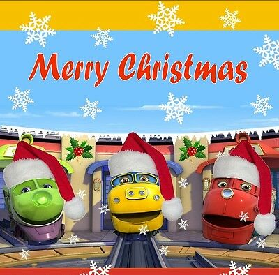 Personalized Christmas letter from Santa with Chuggington stickers and more