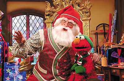 Personalized Christmas letter from Santa with ELMO gifts
