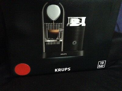 Krups Nespresso Citiz & Milk Coffee Machine - RED Offers Welcome (RRP £199)