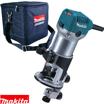 Makita RT0700CX4 Router/Laminate Trimmer with Trimmer Guide 110V + Cube Bag