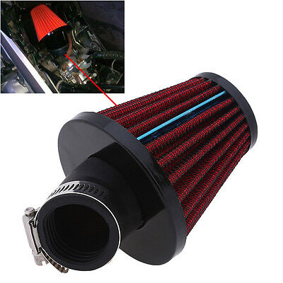 45Degree Bend Air Intake Filter Breather Cleaner Pod 35mm Engine Inlet For Honda