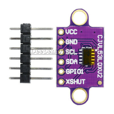GY-VL53L0XV2V L53L0X Time-of-Flight Distance Sensor Breakout Module for Arduino