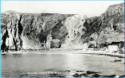 Grande Greve Bay & La Coupee,Sark (Real Photograph Published by Guernsey Press)