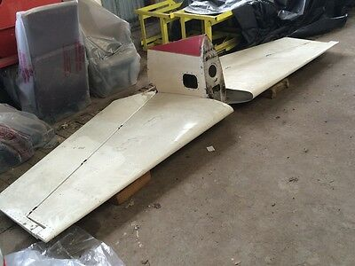 Mooney aircraft M20E complete Empennage elevator and tail plane