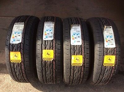 BRAND NEW 4x  255 65 17 T  CONTINENTAL CONTICROSSCONTACT LX2 TYRES FREE FITTING