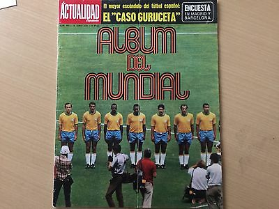 WORLD CUP MEXICO 70. spanish magazine. * rare *