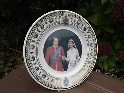 2011 Plate to commemorate the Wedding of Prince William Only 100 Made