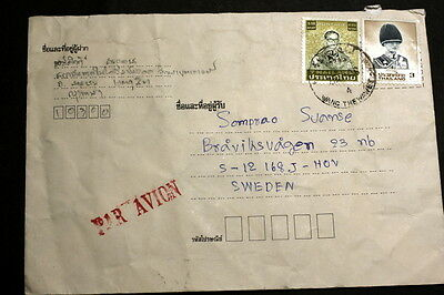 Thailand cover to Sweden