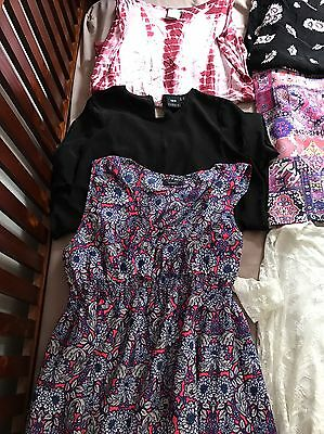 Maternity Clothes 12/14/L Most NWOT. ASOS BRANDS. 7 Dresses, 5 Tops, 2 Skirts.