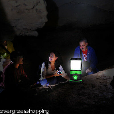 Outdoor LED Camping Tent Light Lantern Hiking Lamp Dimmable USB Rechargeable