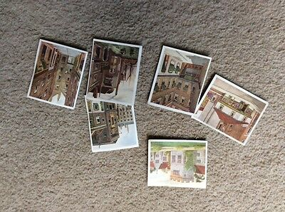 Historic Places From Dickens Classics 6 Cigarette Cards Issued By Hills In 1926