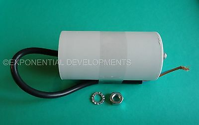 50uf CAPACITOR MOTOR RUN Universal 400v 450v 50mfd FLYING LEAD....1st CLASS POST