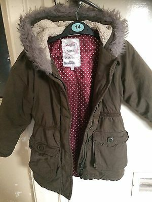 Girls Parka Style Coat 5 Years