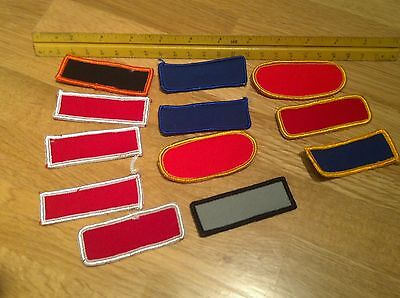 12 Blank Patches
