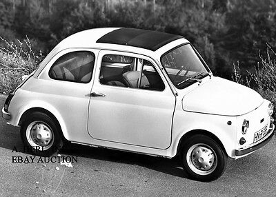 Fiat Nuova 500 1957 57 Fiat Cinquecento 1957 57 introduction new Model Year