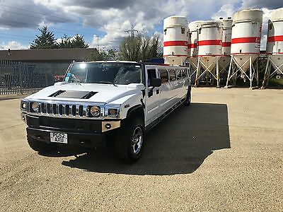 Hummer H2 Limo Limousine COIF PSV H3 Party Bus 16 Seater
