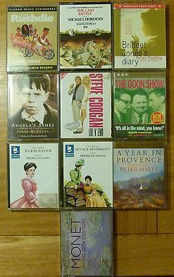 Job Lot of x10 Audio Book Cassete Tapes