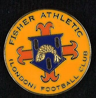 Fisher Athletic (London) FC badge - RARE