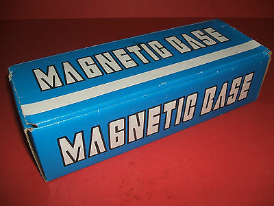 Magnetic Base,  unused.   Micro adjustment.  No brand name.