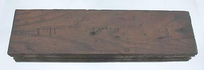 White Star Line Rms Olympic Reclaimed Wood Decking From Haltwhistle 1911-1935
