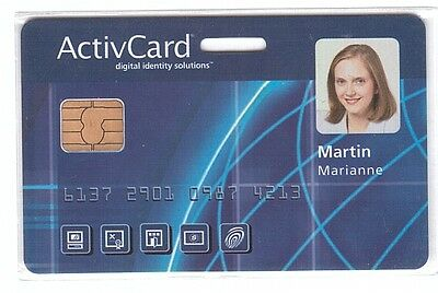 DEMO Chip Card - ActivCard - Digital Identity Solutions