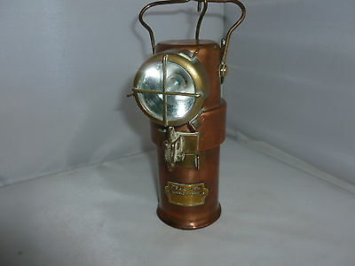 Brass Safety Lamp Miners/firefighters (3)