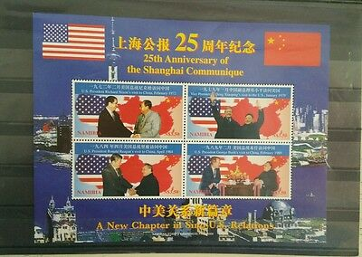 1997 Namibia - The 25th anniversary of Communique of Shanghai