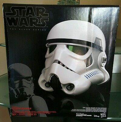 Star Wars The Black Series Rogue One Imperial Stormtrooper Voice-Changer Helmet